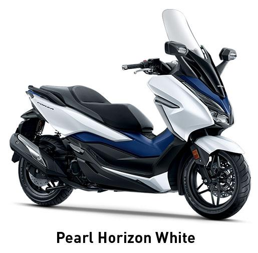 Honda Forza white blue